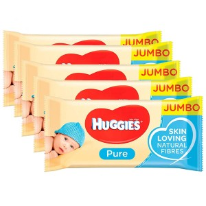 Servetele umede Huggies jumbo pack 72x 10 set